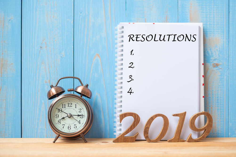 2019 Resolutions