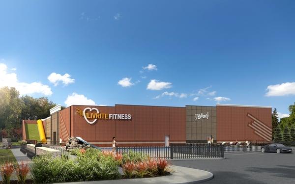 LivRite Fitness Fishers rendering