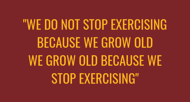 Grow old quote