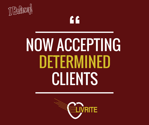 Now Accepting Determined Clients