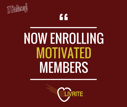 Now Enrolling Motivated Members