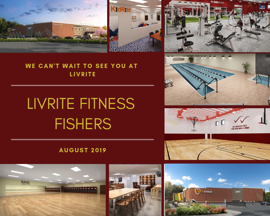 LivRite Fitness Fishers Collage