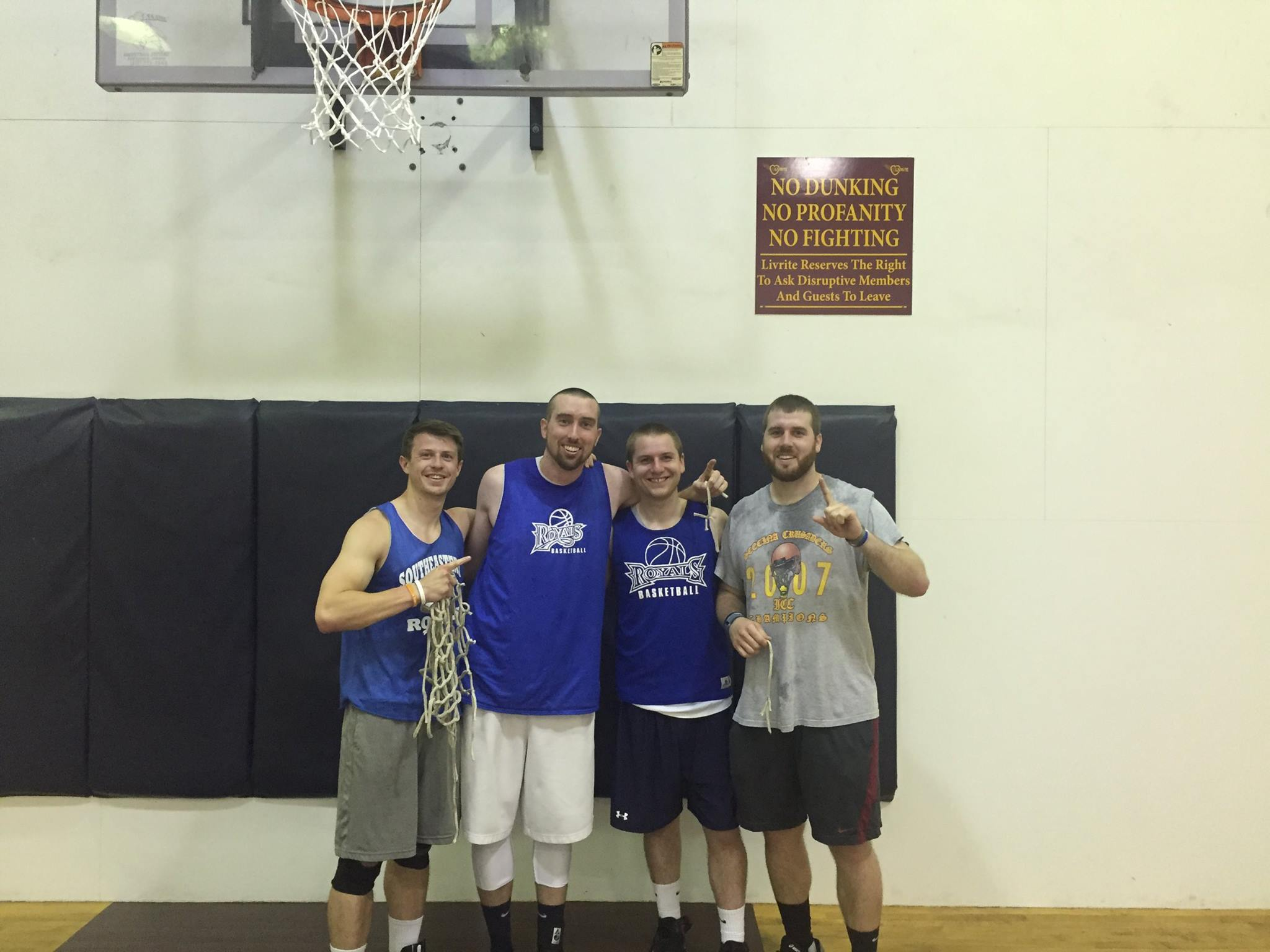 Men's Basketball League Champions