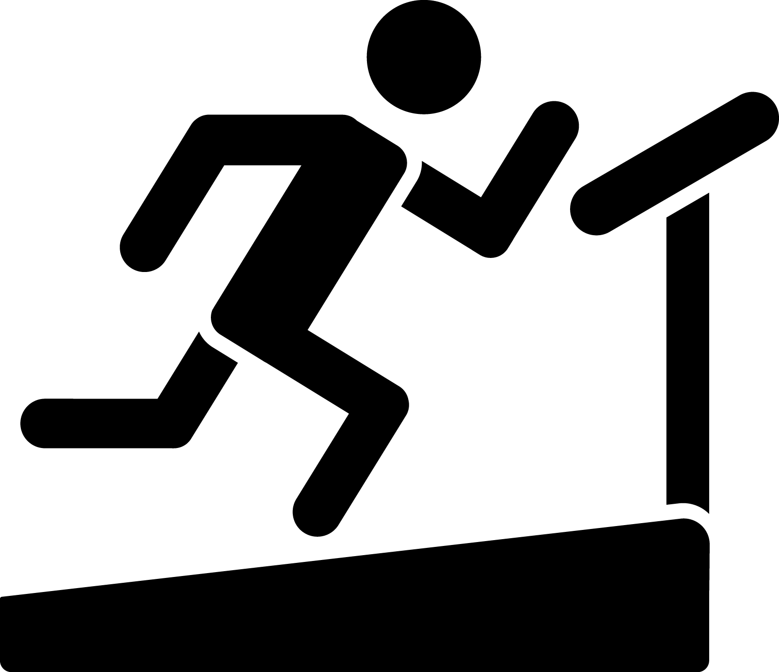 Running on Treadmill Icon