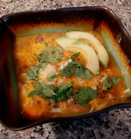 Sweet potato white chicken chili 1