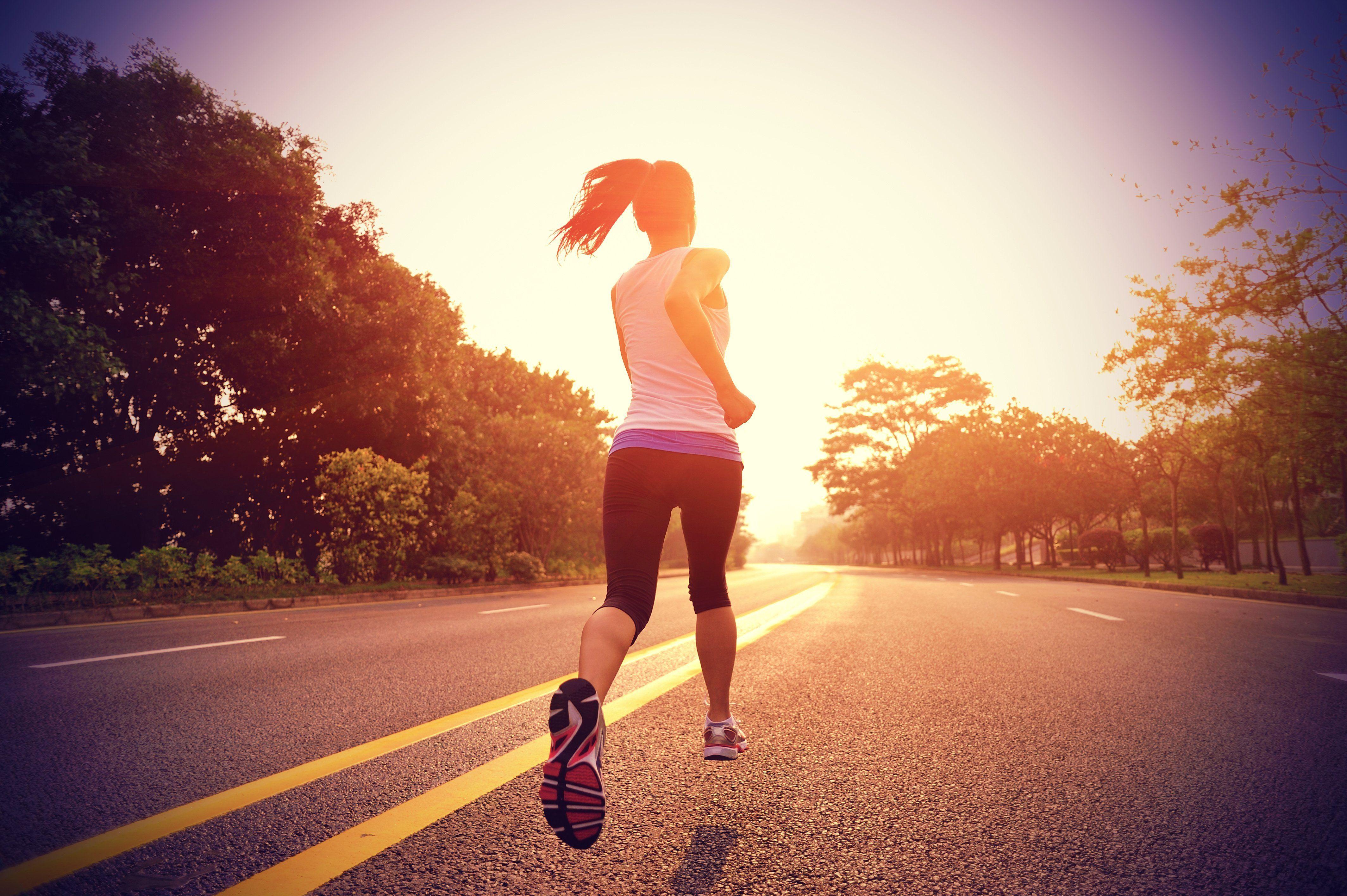 Training for a mini marathon
