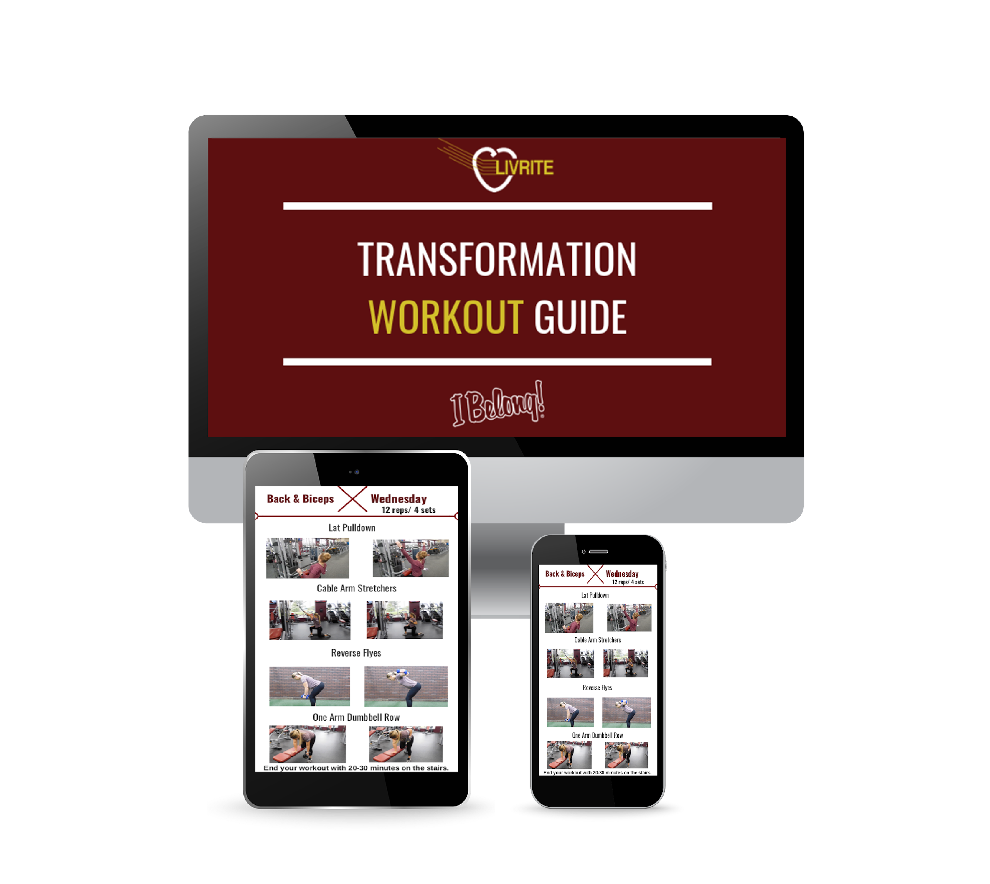 Transformation Workout Guide Ebook