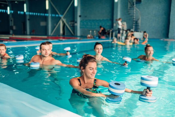 Why you should try water aerobics