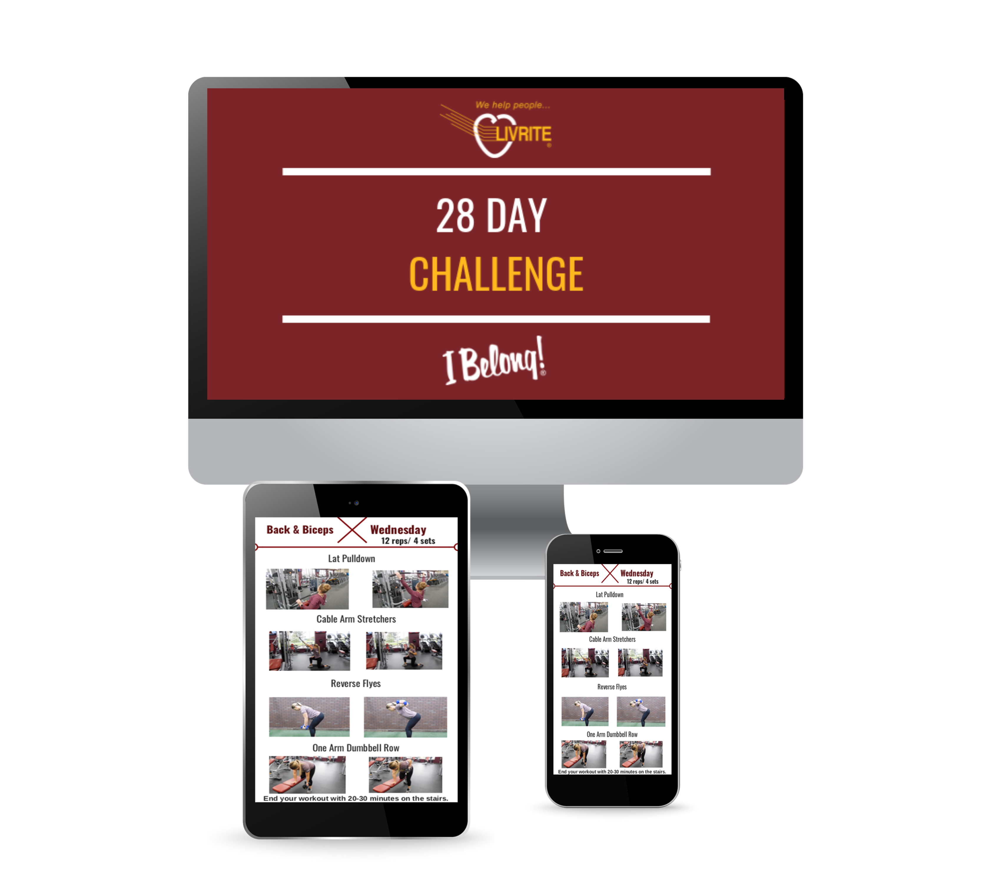 28 day challenge Ipad, Imac, iphone