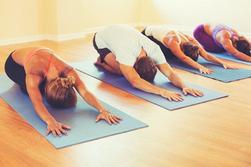 Group stretching classes