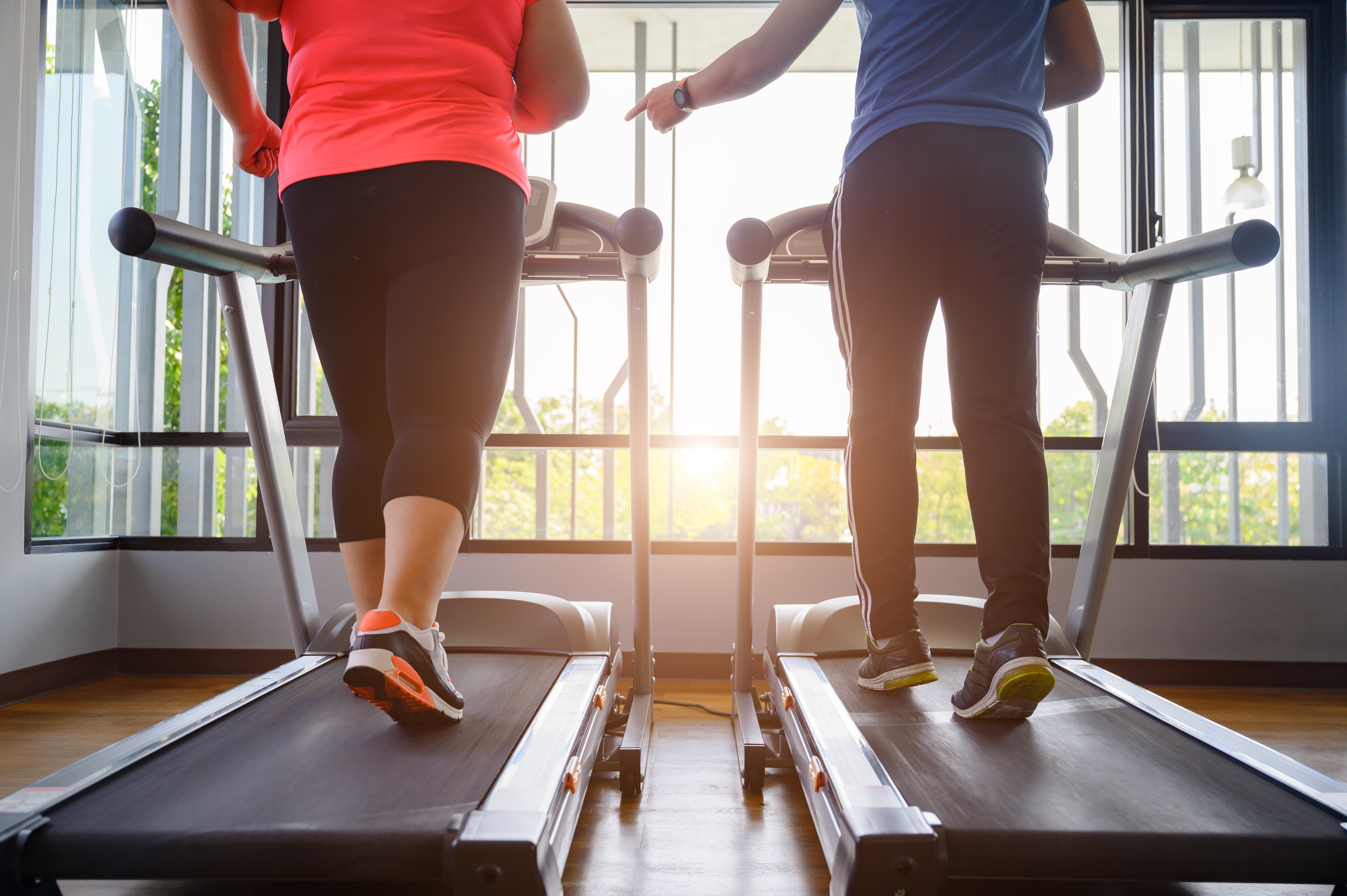 Personal training for weight loss